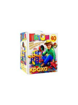 Игровой набор Питон 40 эл. (в коробке)12/12, м12/12 Bauer. Цвет: синий