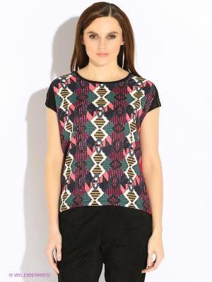 Блузка Vero moda. Цвет: красный