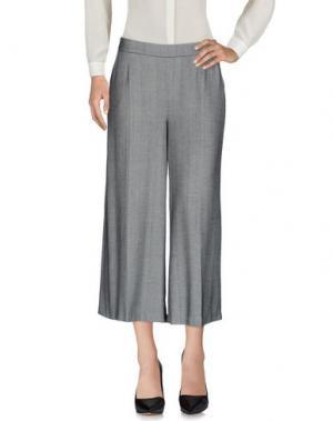 Повседневные брюки CAMICETTASNOB. Цвет: черный