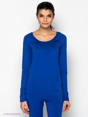 Лонгслив Vero moda. Цвет: синий