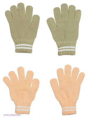 Перчатки FOMAS. Цвет: оливковый, персиковый