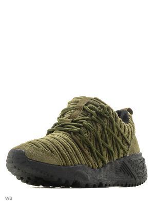 Кроссовки Vitacci. Цвет: зеленый