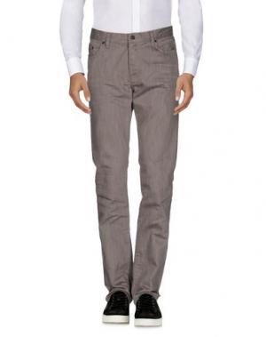 Повседневные брюки JOHN VARVATOS. Цвет: голубиный серый