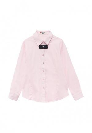 Рубашка Button Blue. Цвет: розовый