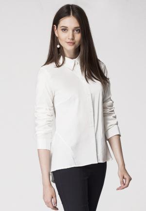 Рубашка Vilatte. Цвет: белый