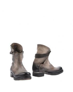 Полусапоги и высокие ботинки AIR STEP. Цвет: бежевый