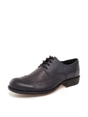 Ботинки THOMAS MUNZ. Цвет: синий
