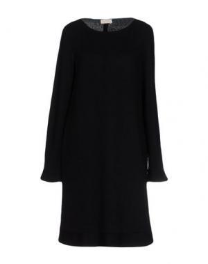 Платье до колена BARBON. Цвет: черный