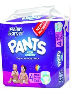 Helen HARPER Easy Comfort Pants Подгузники-трусики Макси 8-13кг 21шт. Цвет: темно-фиолетовый