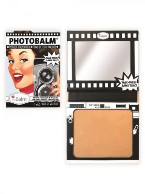 Компактная тональная основа с пудровой текстурой PhotoBalm Medium theBalm. Цвет: светло-коричневый