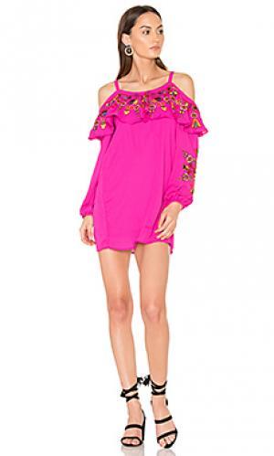 Платье leela VAVA by Joy Han. Цвет: розовый