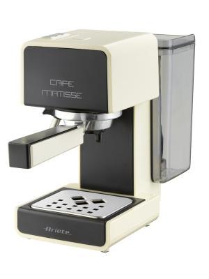 Ariete Кофеварка эспрессо 1363 Matisse. Мощность 900 Вт, 15 бар, черная. Цвет: бежевый