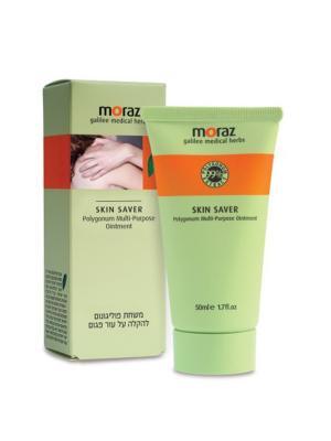 Заживляющая мазь широкого применения Skin Saver на основе экстракта травы горец Moraz. Цвет: белый