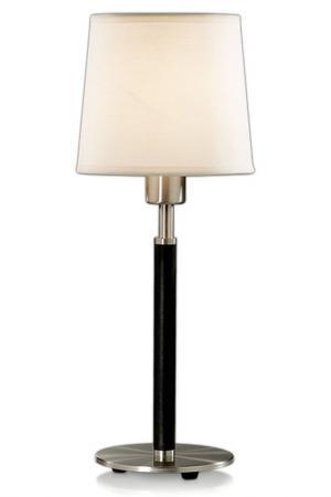 Настольная лампа ODEON LIGHT. Цвет: никель, абажур рогожка