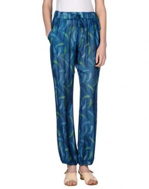 Повседневные брюки MOSAIQUE. Цвет: синий