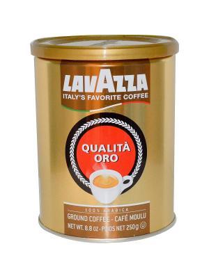 Кофе молотый LAVAZZA ж/б Oro (А-100). Цвет: желтый