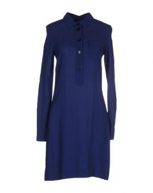 Короткое платье .TESSA. Цвет: синий
