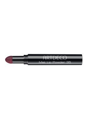 Пудра для губ Mat lip powder № 35, 0,4 г ARTDECO. Цвет: бордовый