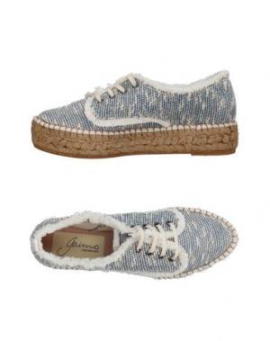 Низкие кеды и кроссовки GAIMO. Цвет: синий