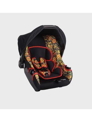 Детское автомобильное кресло ЭГИДА ЛЮКС коллекция ART SIGER. Цвет: черный