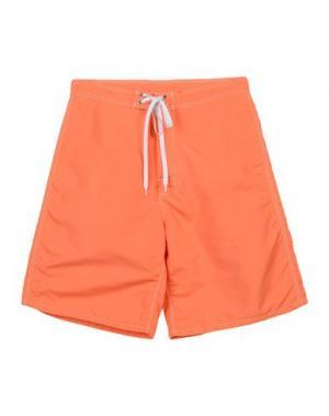 Пляжные брюки и шорты SUNDEK. Цвет: оранжевый