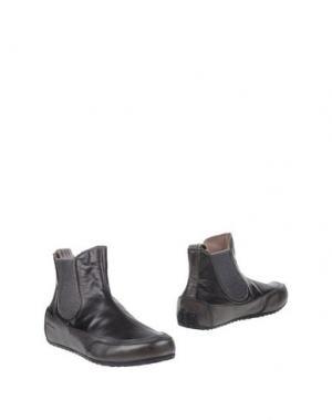 Полусапоги и высокие ботинки CANDICE COOPER. Цвет: черный