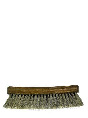 Щетка для гладкой кожи, натуральный светлый ворс, 20,5см., Tarrago. Цвет: коричневый