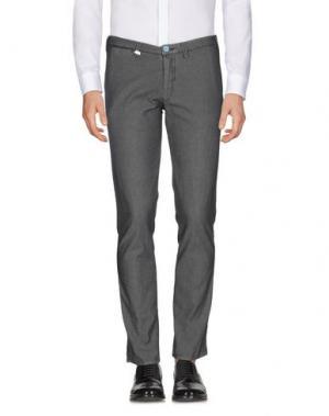 Повседневные брюки BARBATI. Цвет: черный