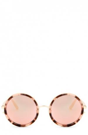 Солнцезащитные очки Matthew Williamson. Цвет: розовый