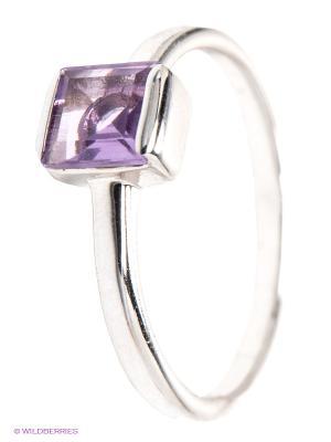 Кольцо Art Silver. Цвет: серебристый, фиолетовый
