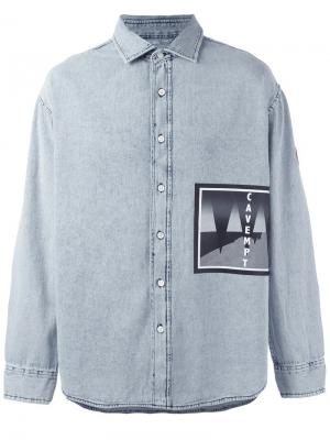 Джинсовая рубашка C.E.. Цвет: синий
