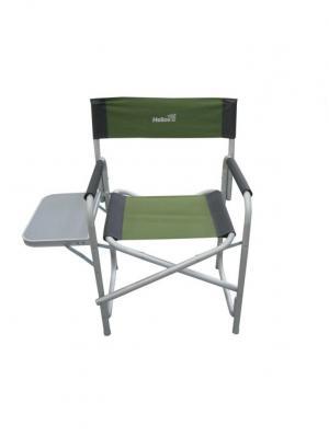 Кресло директорское с откидным столиком Helios. Цвет: зеленый