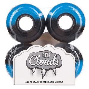 Колеса для скейтборда  Cloud Duotones Blue 78A 52 mm Ricta. Цвет: синий,черный
