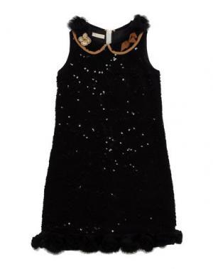 Платье I PINCO PALLINO I&S CAVALLERI. Цвет: черный