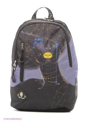 Рюкзаки UFO PEOPLE. Цвет: серый, фиолетовый