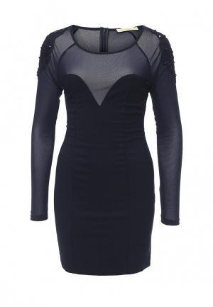 Платье Katelina. Цвет: синий