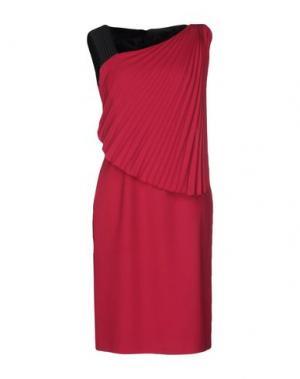 Платье до колена EMANUEL UNGARO. Цвет: пурпурный