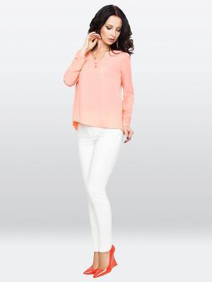 Блузка E.Levy. Цвет: персиковый
