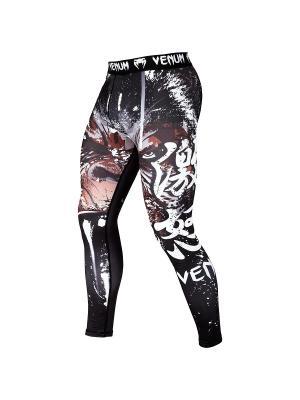 Компрессионные тайтсы Venum Gorilla - Black. Цвет: черный,красный,белый