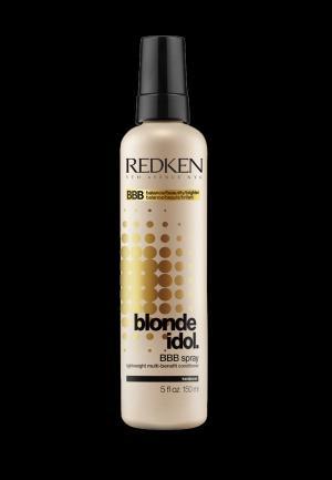 BBB-спрей Blonde Idol Redken. Цвет: золотой