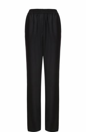 Шерстяные брюки прямого кроя Givenchy. Цвет: черный