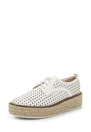 Ботинки My&My. Цвет: белый