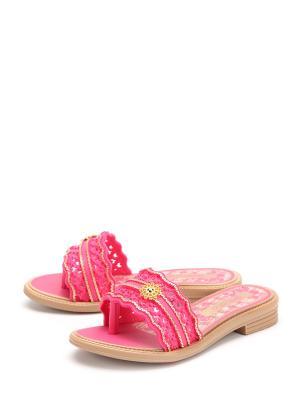 Сабо GRENDHA. Цвет: розовый