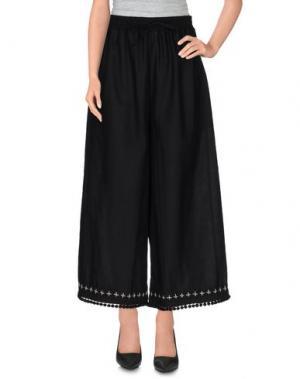 Повседневные брюки HC HOLY CAFTAN. Цвет: черный