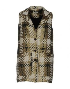 Легкое пальто ELLA LUNA. Цвет: зеленый-милитари