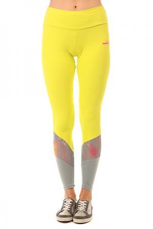 Леггинсы женские  Nz Pozitive Yellow CajuBrasil. Цвет: серый,желтый