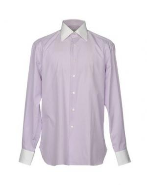 Pубашка STEFANO RICCI. Цвет: сиреневый
