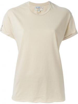 Классическая футболка Sandrine Rose. Цвет: телесный