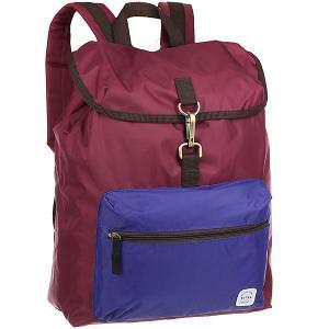 Рюкзак туристический  B320 Bordo/Blue Extra. Цвет: бордовый,синий