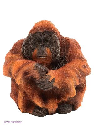 Статуэтка Орангутанг Veronese. Цвет: рыжий